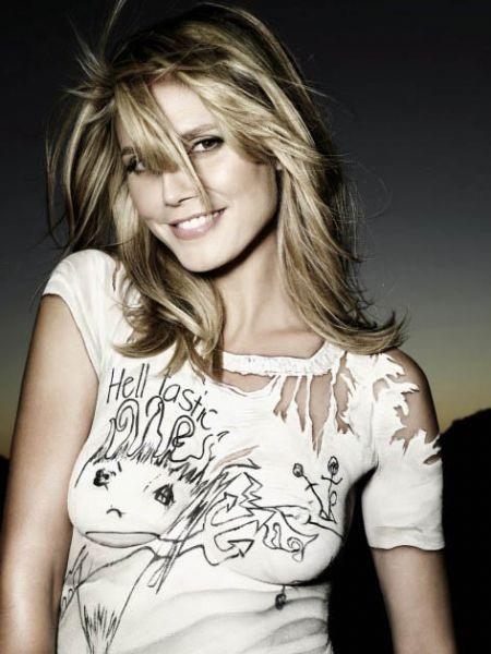 Top model Heidi Klum